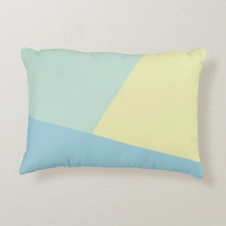 Tonos triádicos - almohada moderna del acento del cojín