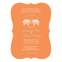 TONS OF LOVE/Elephant Custom Color Wedding Invites