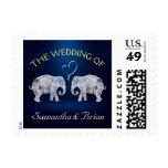TONS OF LOVE | Elephant Night Light Wedding Custom Postage