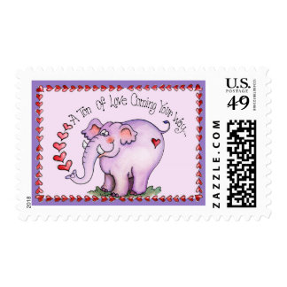 Tons of Love - Postage Stamp