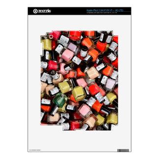 Tons of Nail Polish Bottles iPad 3 Skins