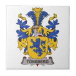 Tonsberg Family Crest Ceramic Tile