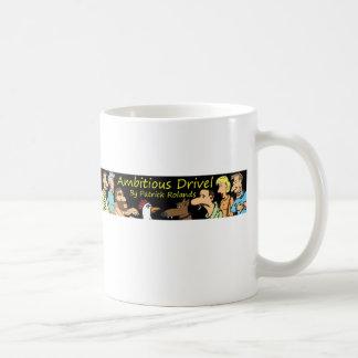 tontería ambiciosa taza básica blanca