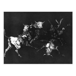 Tontería de Francisco Goya- de los tontos Postales