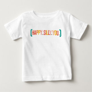 tonto feliz usted camisetas polera