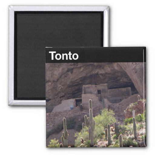 Tonto National Monument Fridge Magnets