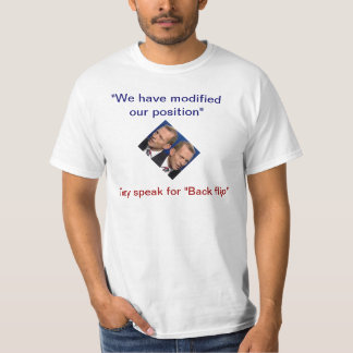 Tony back flip T-Shirt
