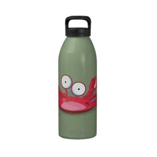 Tony el cangrejo botella de agua