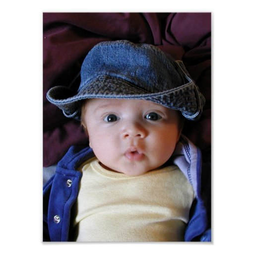 Tony en gorra azul impresiones