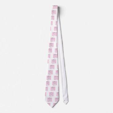 Tony Fernandes 8 pink stripe anchor Neck Tie