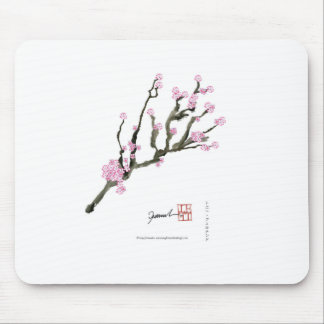 Tony Fernandes cherry blossom 8 Mouse Pad