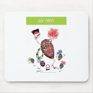tony fernandes, hen party mouse pad