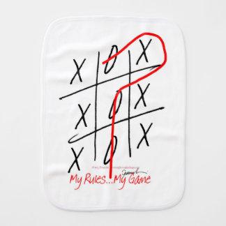 tony fernandes, it's my rule my game 6 burp cloth