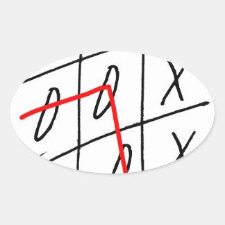 tony fernandes, it's my rule my game (7) oval sticker