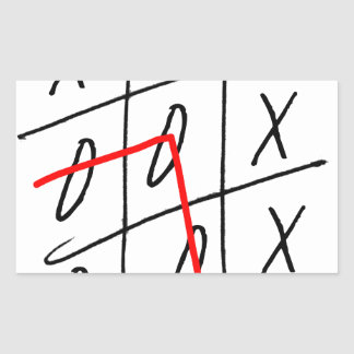 tony fernandes, it's my rule my game (7) rectangular sticker
