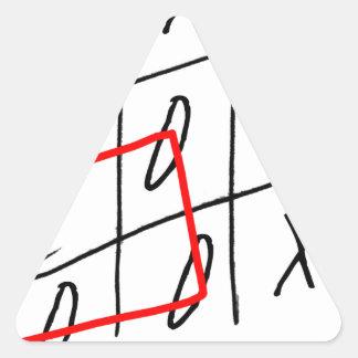 tony fernandes, it's my rule my game (7) triangle sticker