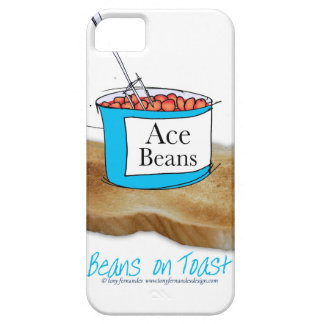 Tony Fernandes's Man Food - beans on toast iPhone SE/5/5s Case