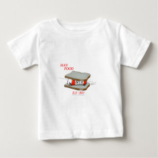 Tony Fernandes's Man Food - beer sarni Baby T-Shirt