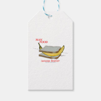 Tony Fernandes's Man Food - continental breakfast Gift Tags