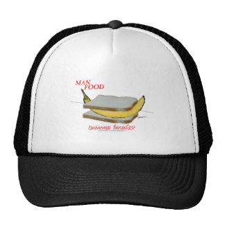Tony Fernandes's Man Food - continental breakfast Trucker Hat
