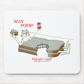 Tony Fernandes's Man Food - midnight snack Mouse Pad