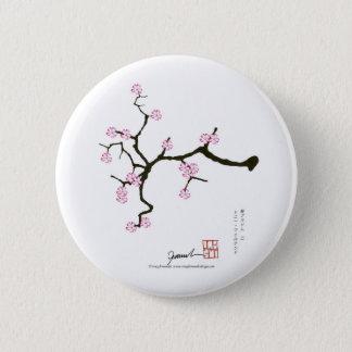 Tony Fernandes Sakura Blossom 2 Pinback Button