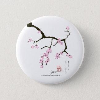 Tony Fernandes Sakura Blossom 3 Pinback Button