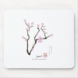 Tony Fernandes Sakura Blossom 5 Mouse Pad