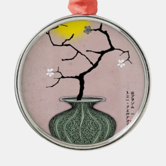 tony fernandes's a harvest moon 1 metal ornament