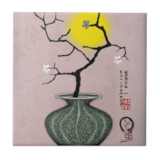 tony fernandes's a harvest moon 3 ceramic tile