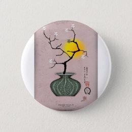 tony fernandes's a harvest moon 4 pinback button