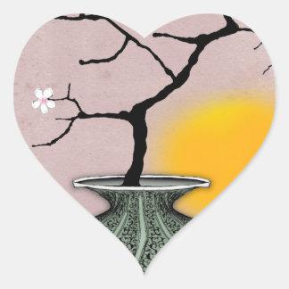 tony fernandes's a harvest moon 6 heart sticker