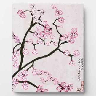 tony fernandes's antique blossom 7 plaque