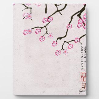 tony fernandes's antique blossom 8 plaque