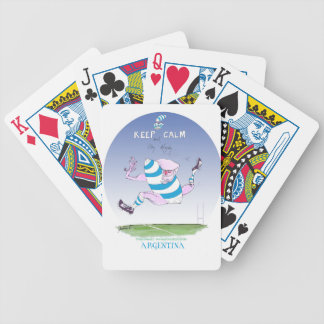 tony fernandes's argentina forward bicycle playing cards