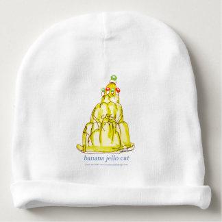 tony fernandes's banana jello cat baby beanie