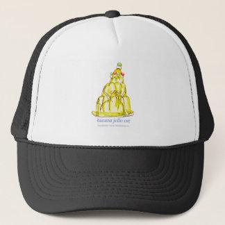 tony fernandes's banana jello cat trucker hat