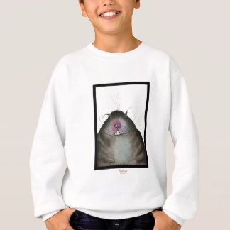 tony fernandes's black cat snap sweatshirt