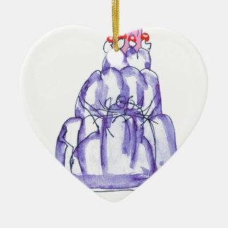 tony fernandes's blackcurrant jelly cat ceramic ornament