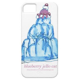 tony fernandes's blueberry jello cat iPhone SE/5/5s case