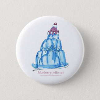 tony fernandes's blueberry jello cat pinback button