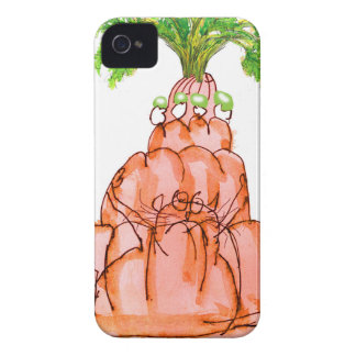 tony fernandes's carrot jello cat iPhone 4 Case-Mate case