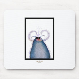 tony fernandes's cool hipster cat-snap mouse pad