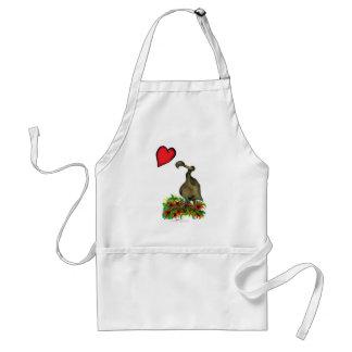 tony fernandes's love dodo adult apron