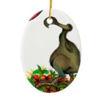 tony fernandes's love dodo ceramic ornament