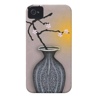 tony fernandes's moon and 7 plum blossom iPhone 4 case
