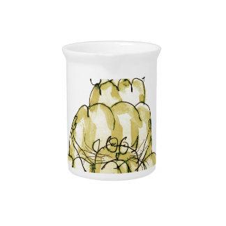tony fernandes's parsnip jello cat beverage pitcher