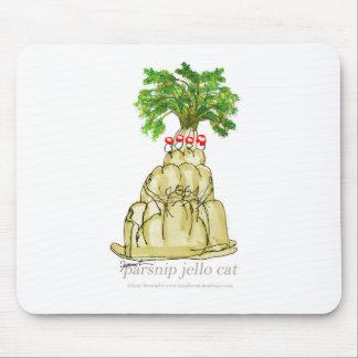 tony fernandes's parsnip jello cat mouse pad