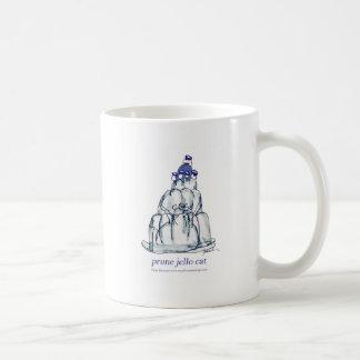 tony fernandes's prune jello cat coffee mug