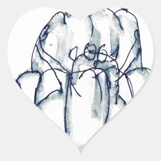 tony fernandes's prune jello cat heart sticker